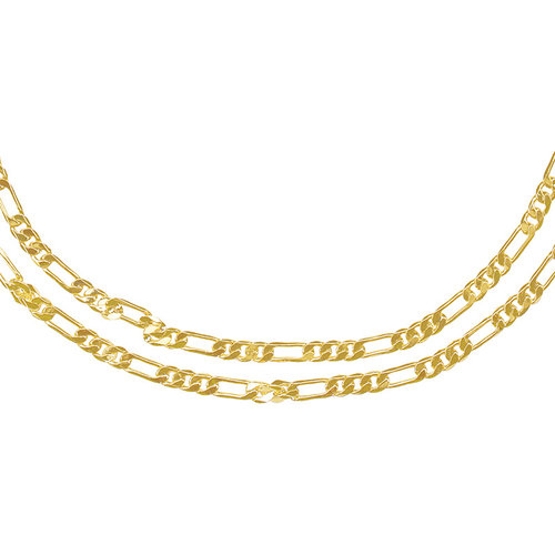 YEHWANG Necklace Double Chain