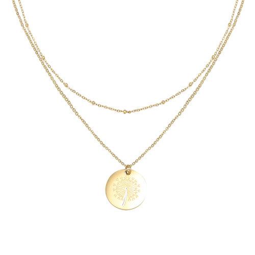 YEHWANG Necklace Dandelion