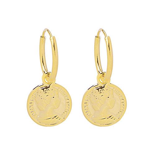 YEHWANG Earrings Caesar Gold