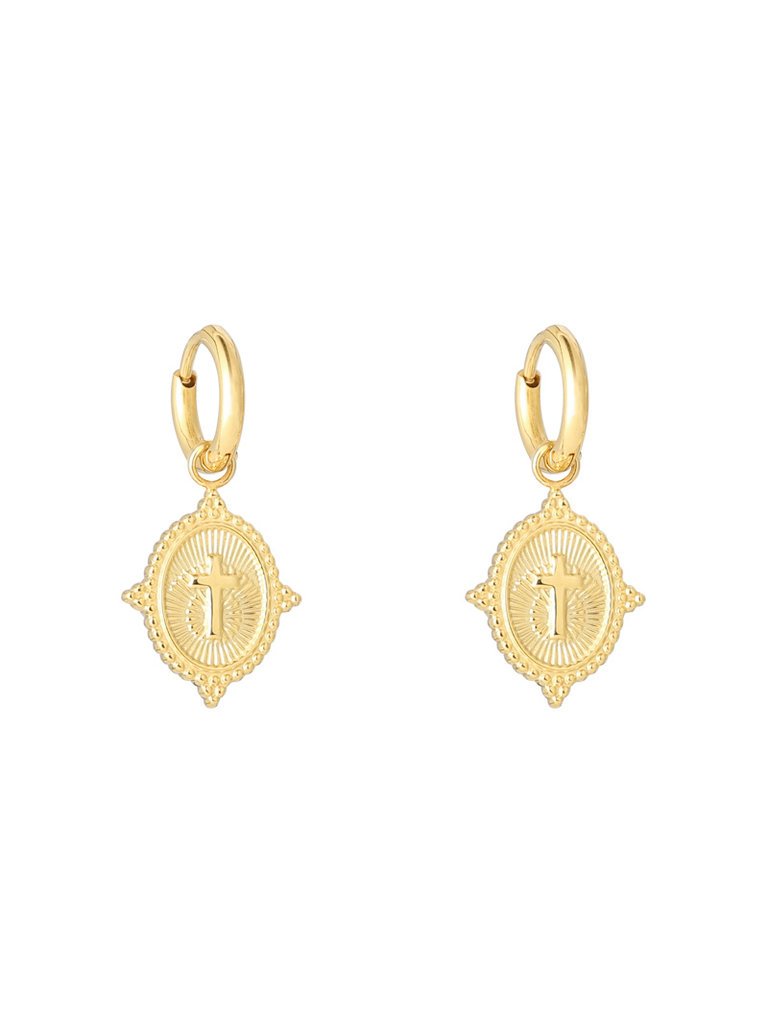 YEHWANG Earrings Neo Cross
