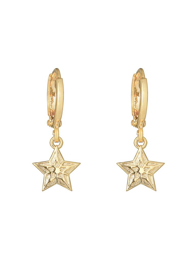 YEHWANG Earrings Sparkling Star