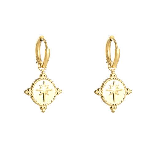YEHWANG Earrings Guiding Star