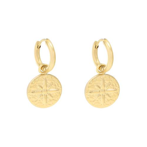 YEHWANG Earrings Astral Gold