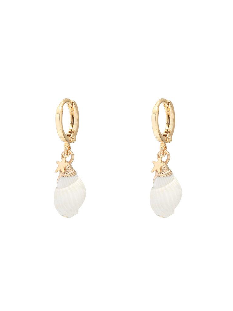 YEHWANG Earrings Classy Conch