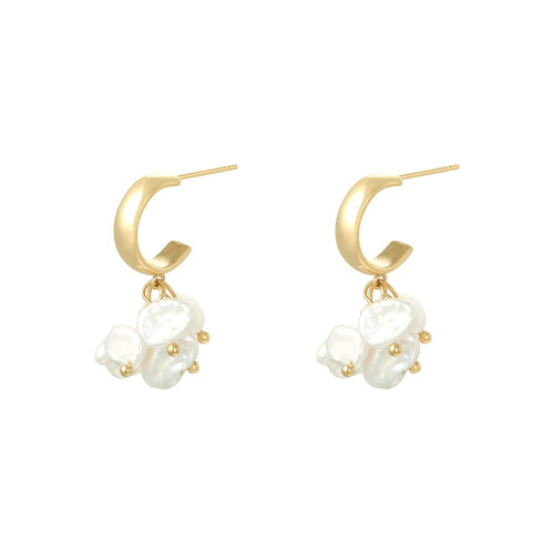 LADYLIKE Earrings Arielle Gold