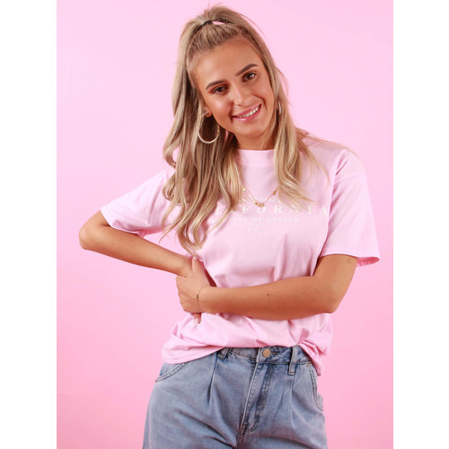 PRETTY BODY California Shirt Roze