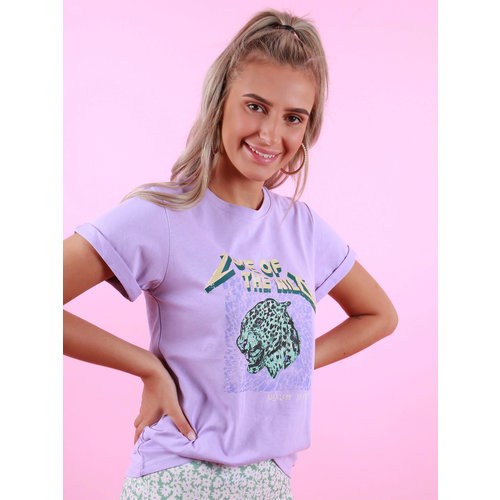 AMBIKA Love Of The Wild Shirt Paars