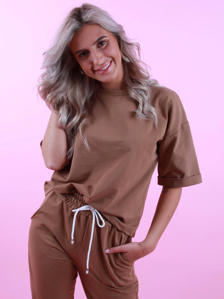 FASHION Shirt Camel