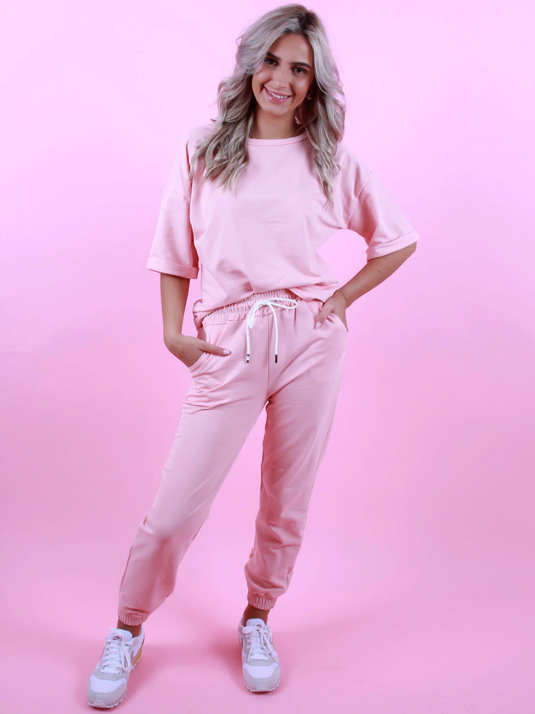 LADYLIKE FASHION Jogger Pink