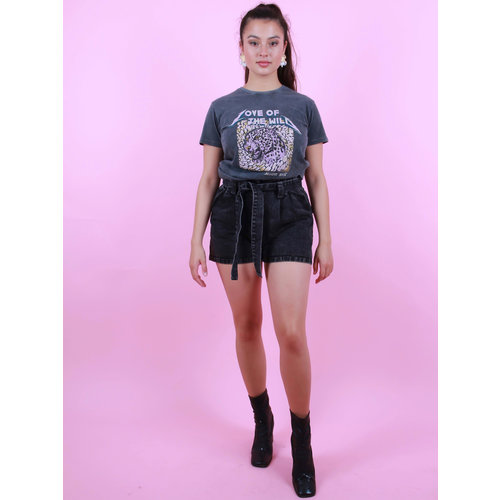 IVIVI Denim Short Grey