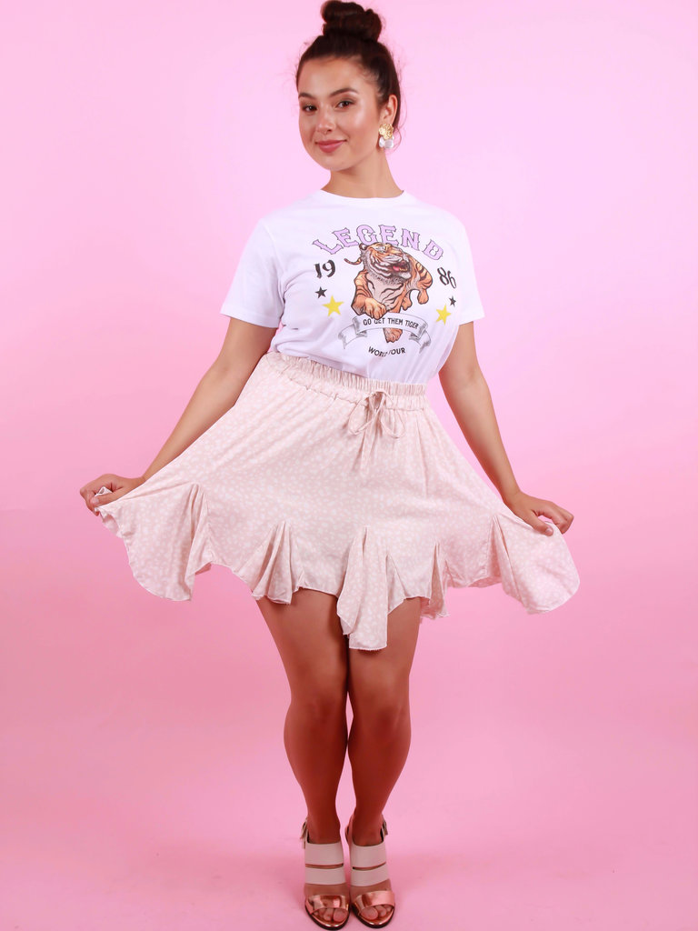 EIGHT PARIS Summer Skirt Pink