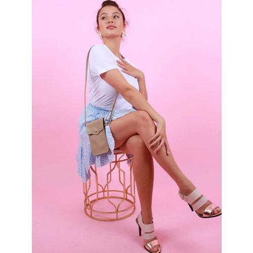 TEATRO Pona - Classic Grain - Crossbody bag - Taupe