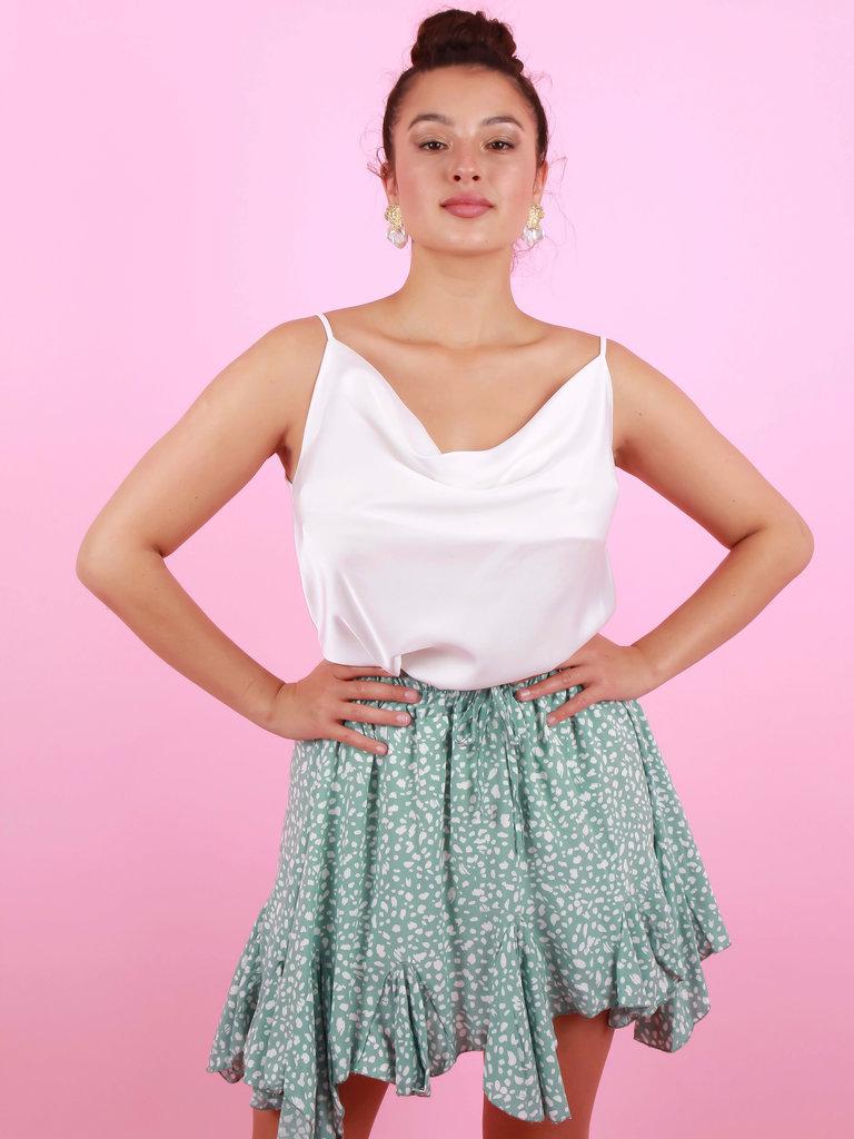 EIGHT PARIS Summer Skirt Mint