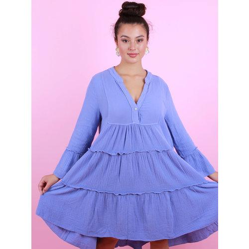 MOMENT Summer Dress Short Purple