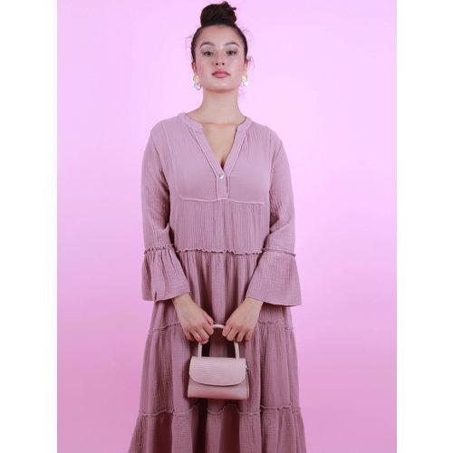 TEATRO Fay - Lizard bag - Pink