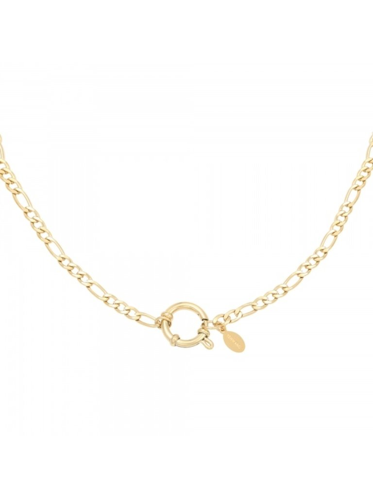 YEHWANG Necklace Chain Faye Gold