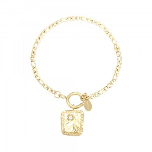 YEHWANG Bracelet Creativo Gold