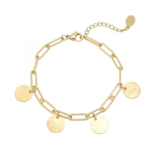 LADYLIKE Bracelet Coins Gold