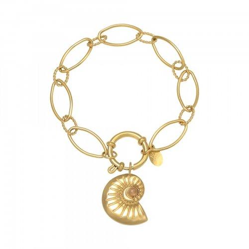 LADYLIKE Bracelet Shell Around Gold