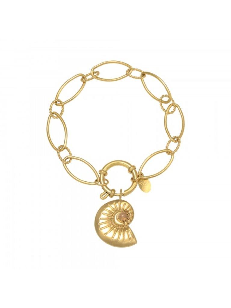 LADYLIKE Armband Shell Around Gold