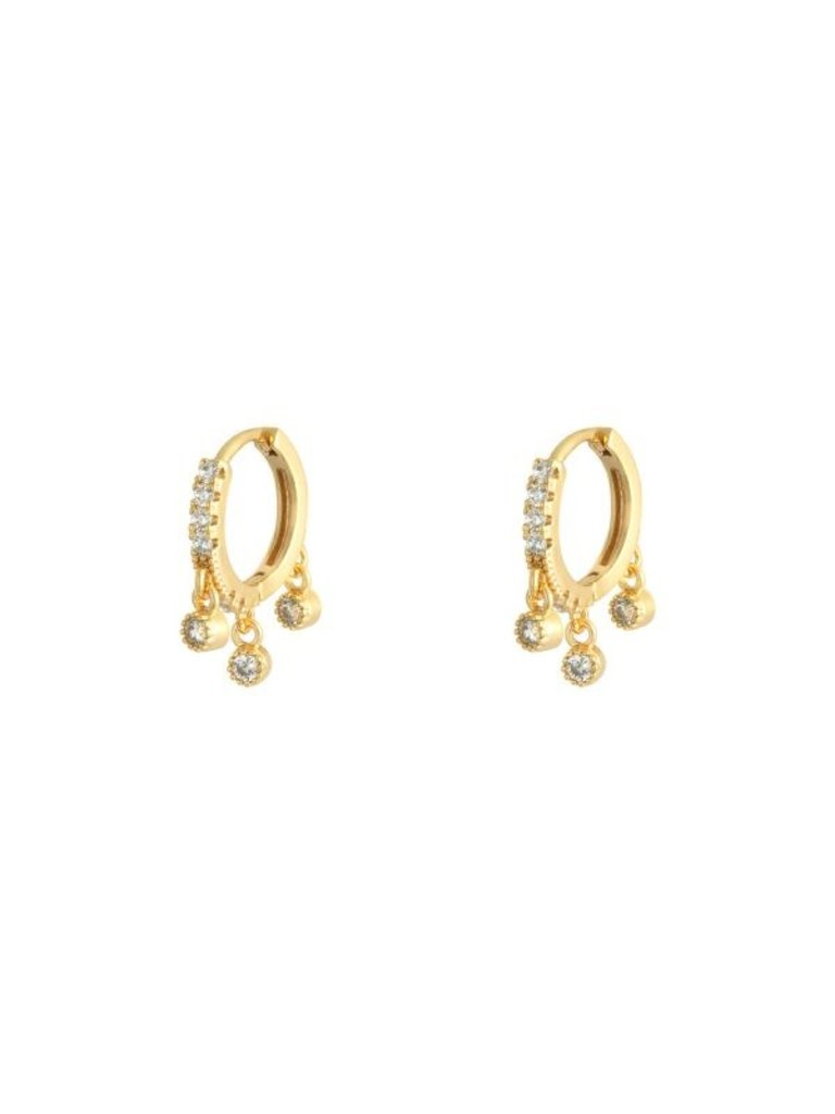 LADYLIKE Earrings Radiant Gold