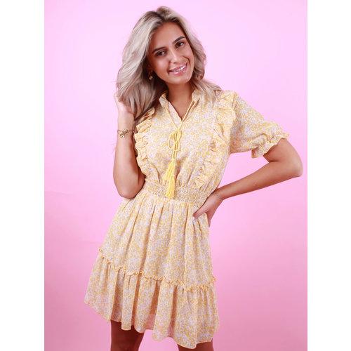 GIORGIA Spring Dress Yellow
