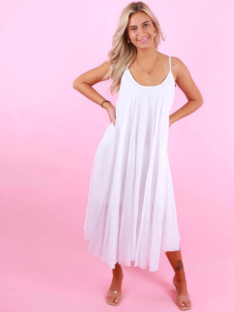LADYLIKE FASHION Long Dress White