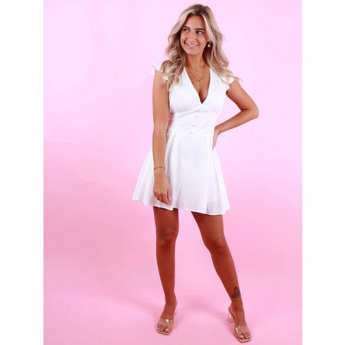 EIGHT PARIS Little Dress White