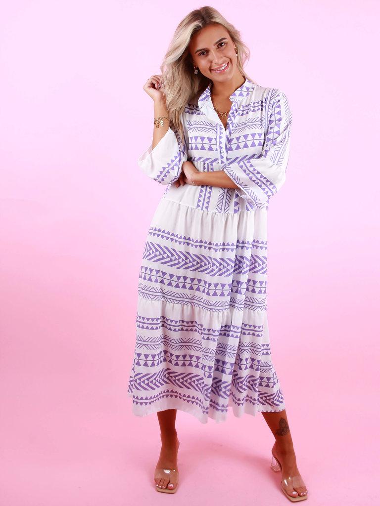 LIULI Maxi Summer Dress Purple