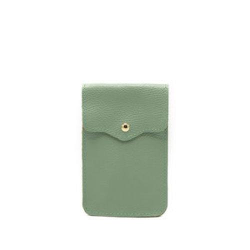 LADYLIKE FASHION Pona Classic Grain Crossbody bags Green