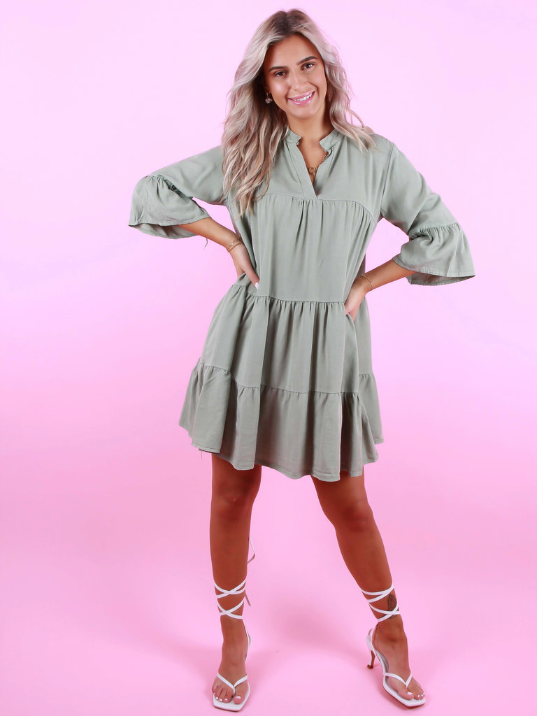 NEW COLLECTION Dress Noor Green