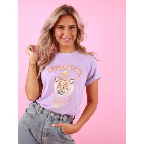 AMBIKA Thunder Tiger T-Shirt Lilac