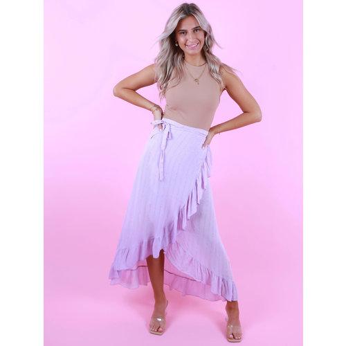 AMBIKA Wrap Skirt Shimmer Lilac