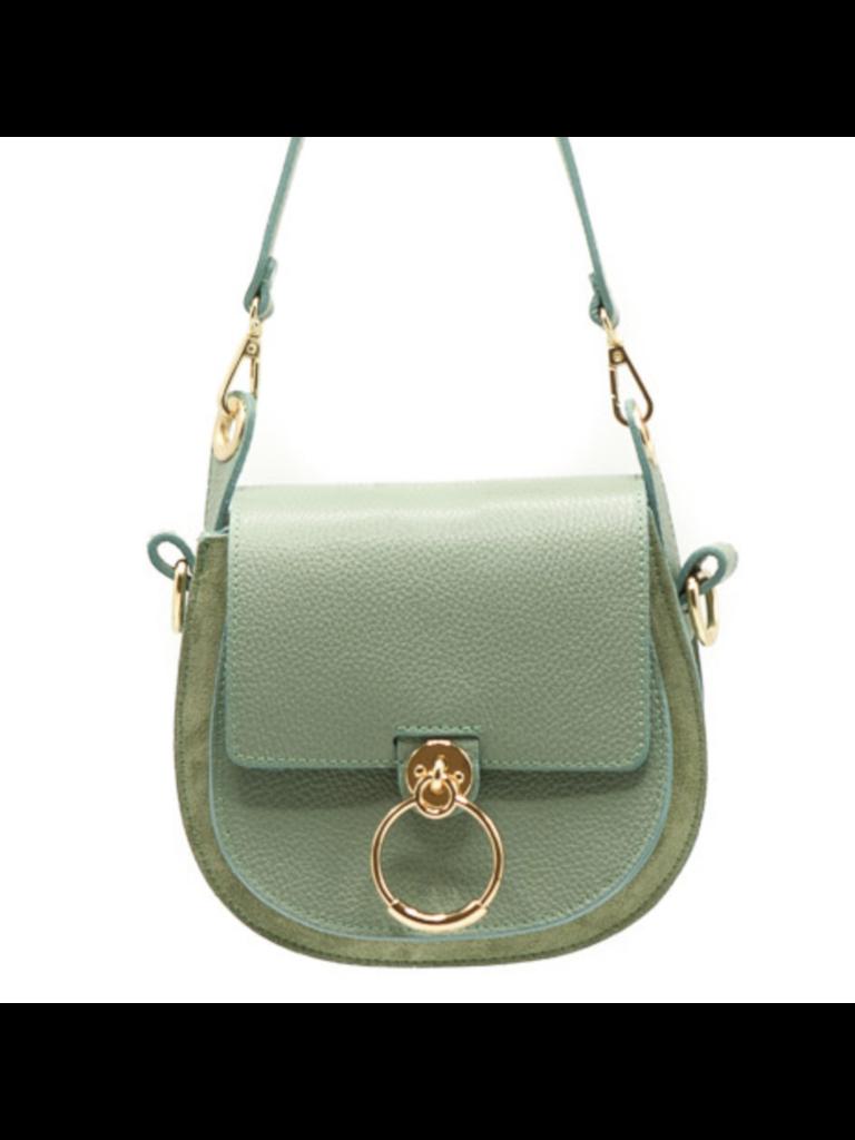 TEATRO Gianna - Classic Grain - Crossbody bags - Green