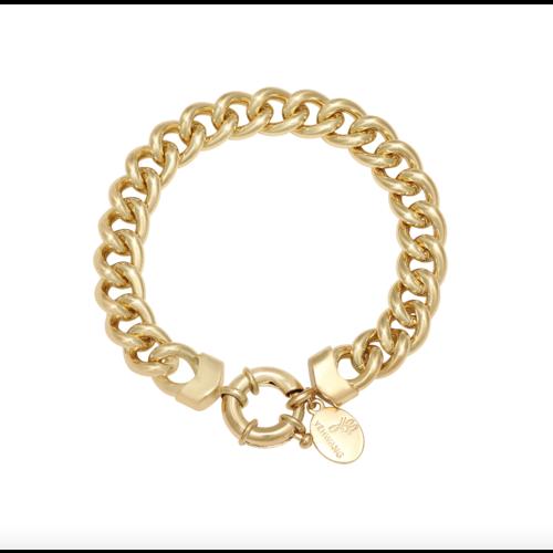 LADYLIKE Armband Chain Holly Goud