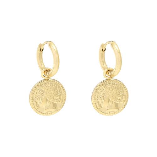 LADYLIKE Earrings Ancient Beauty Gold