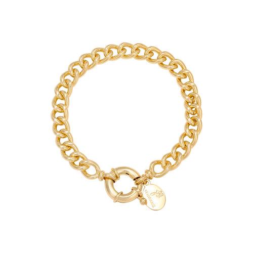 LADYLIKE Armband Chain Lara Goud