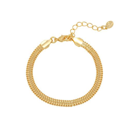 LADYLIKE Armband Snaky Chain Goud