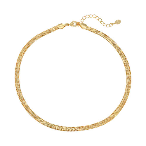 LADYLIKE Necklace Snaky Chain Gold