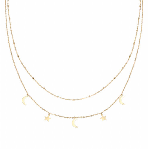 LADYLIKE Necklace Beyond The Stars Gold