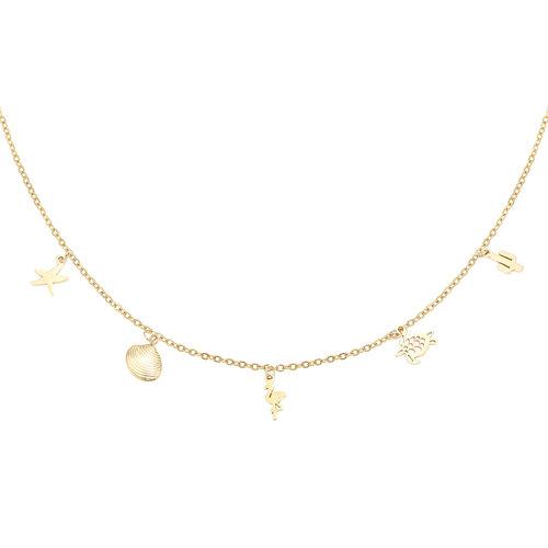 LADYLIKE Necklace Animal Farm Gold