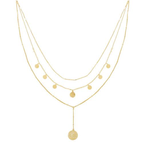 LADYLIKE Necklace La Reina Layers Gold
