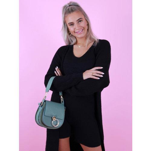 TEATRO Leather  Gianna - Classic Grain - Crossbody bags - Green