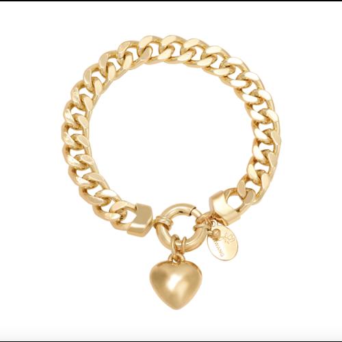 LADYLIKE Bracelet Chain Opal Gold