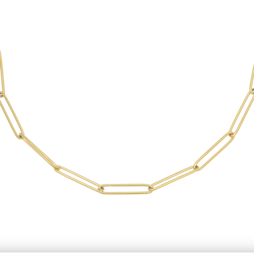 LADYLIKE Necklace Plain Chain Gold