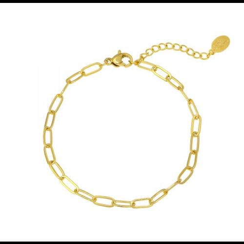 LADYLIKE Bracelet Chained Up Gold