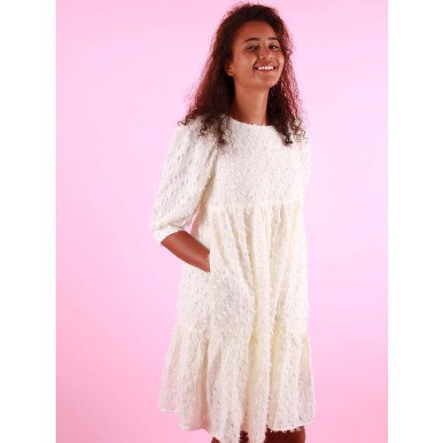 VERA & LUCY Ecru Dress With Pockets