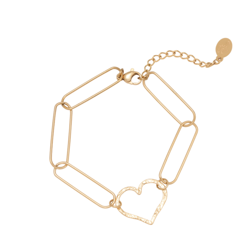 Ladylike Bracelet Sweetheart Gold