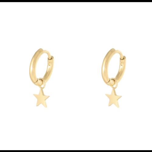 LADYLIKE Earrings Star Gold