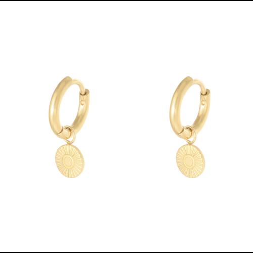 LADYLIKE Earrings Sunbeam Gold